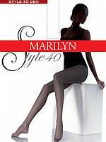 Колготки классические MARILYN STYLE 40 40 DEN Серый 6 (XXL)