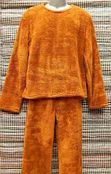 Пижама мужская махровая микрофибра M 46-48 2
