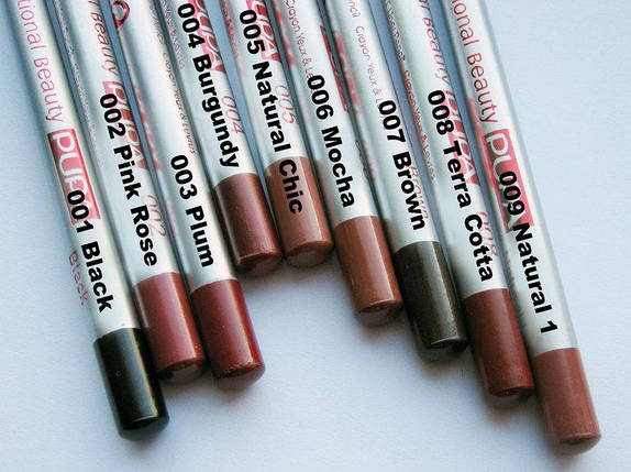 Контурные карандаши для губ и глаз Pupa , фото 2