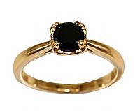 Кольцо  фирмы Xuping. Камни: чёрный циркон. Цвет: позолота. Есть 17 р.  18 р.  19 р.