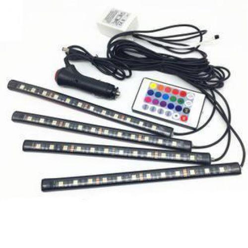 LED AMBIENT HR-01678 цветная подсветка для авто влагозащитная RGB