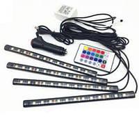 LED AMBIENT HR-01678 цветная подсветка для авто влагозащитная RGB, фото 1