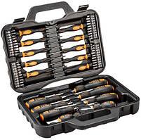 Набор отверток и насадок 58 элементов NEO Tools 04-211