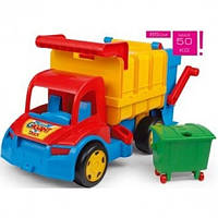 Большой игрушечный мусоровоз Гигант Wader (67000)