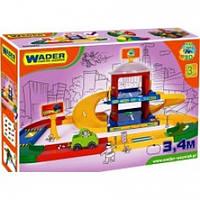 """Игровой набор Wader """"Гараж 2 уровня с дорогой 3,4 м"""" (53020)"""