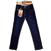 Утепленные джинсовые брюки р. 134, 140, 146, 152, 158, 164 см. (A401, H. L)