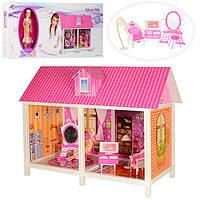 Кукольный домик 66882 с куклой и мебелью