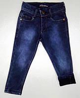 Утепленные джинсовые брюки на легком флисе на 6 лет ( 36666)