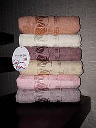 Махровий рушник 50*90 Cestepe Vip Cotton Туреччина