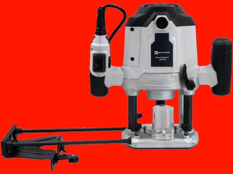 Ручной фрезер по дереву цанга 6 и 8 мм Элпром ЭМФ-1550