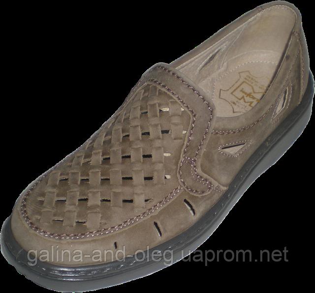 Летние мужские туфли Тигина 5013