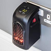 Портативный керамический тепловентилятор Handy Heater, Комнатный обогреватель в розетку, Акция