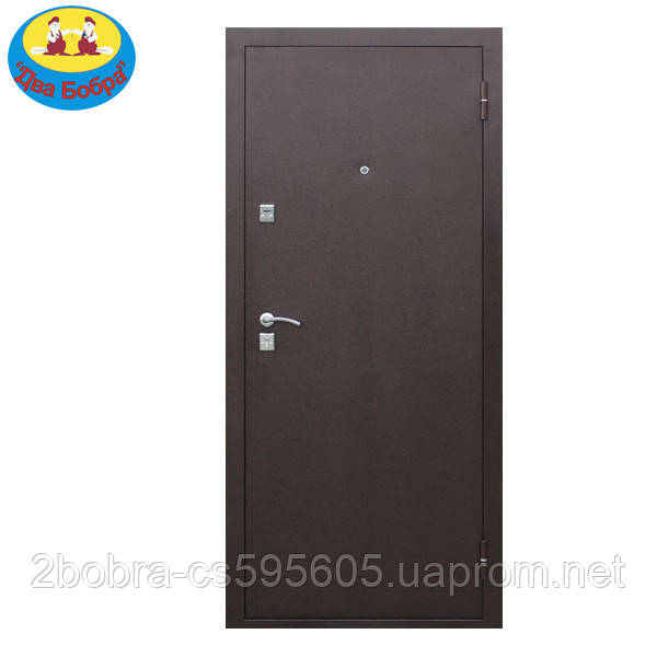 Дверь входная  7-2 металл/металл