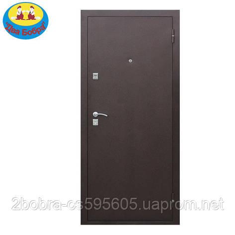 Дверь входная  7-2 металл/металл, фото 2