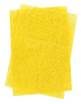 """Набор сизали """"1 Вересня"""" 741409 желтый, 20*30, 1 лист, фото 2"""