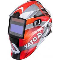 Маска сварщика YATO защитная с саморегулируемым фильтром YT-73921