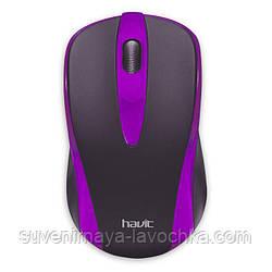 Компьютерная мышь HAVIT  HV-MS675 USB, purple.