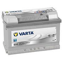Аккумулятор VARTA Silver Dynamic E38 (574402075) 6СТ-74, 750En, габариты 278х175х175, гарантия 24 мес.