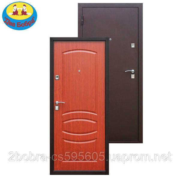Дверь входная 7-2 Итальянский орех