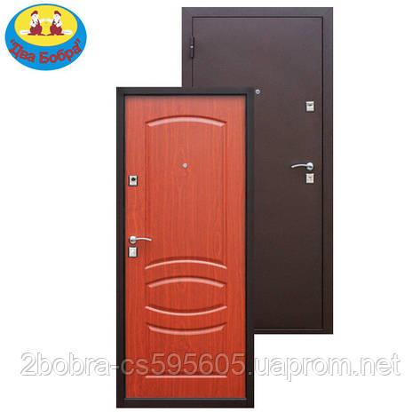 Дверь входная 7-2 Итальянский орех, фото 2