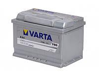Аккумулятор VARTA Silver Dynamic E44 (577400078) 6СТ-77, 780En, габариты 278х175х190, гарантия 24 мес.