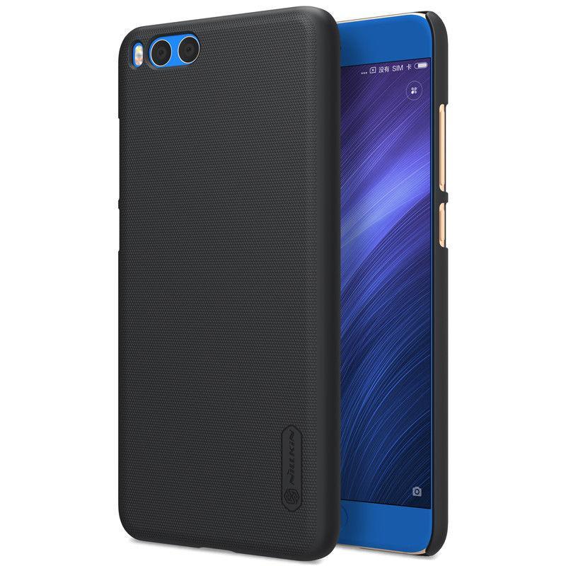 Nillkin Xiaomi Mi Note 3 Super Frosted Shield Black Чехол Накладка Бампер