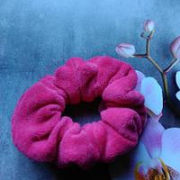 Резинка велюровая.розовая