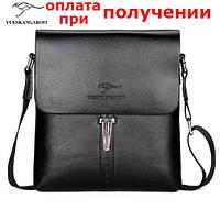 Мужская кожаная брендовая сумка барсетка Kangaroo FOYIDAISHU купить, фото 1