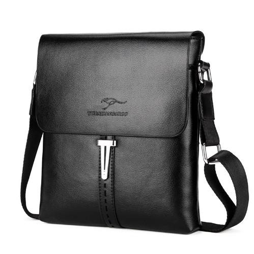 68eebbea2973 Мужская кожаная брендовая сумка барсетка Kangaroo FOYIDAISHU купить, ...