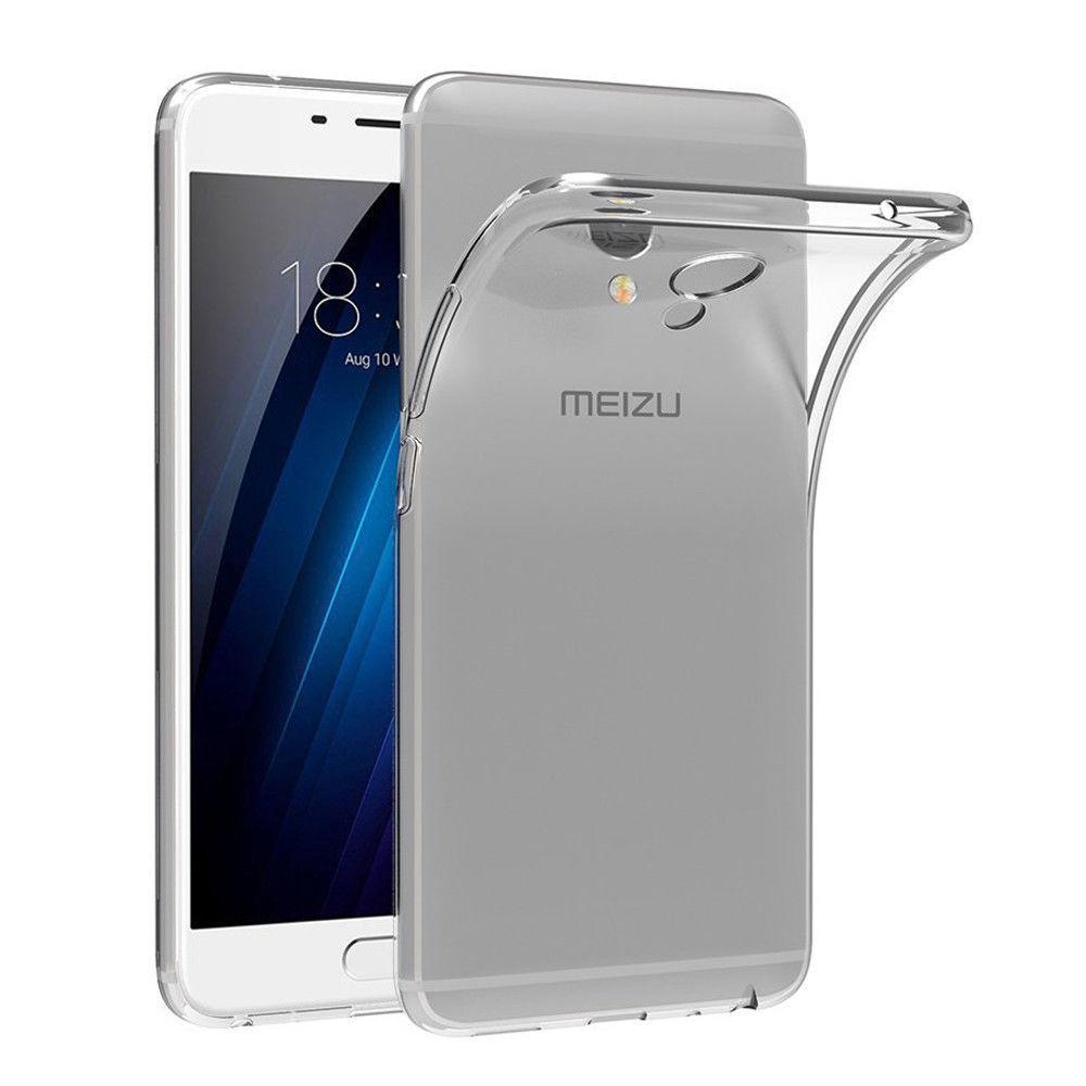 Meizu M3E защитный силиконовый (ТРU) чехол бампер