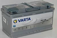 Аккумулятор VARTA Silver Dynamic AGM G14 (595901085) 6СТ-95, 850En, габариты 353х175х190, гарантия 24 мес.