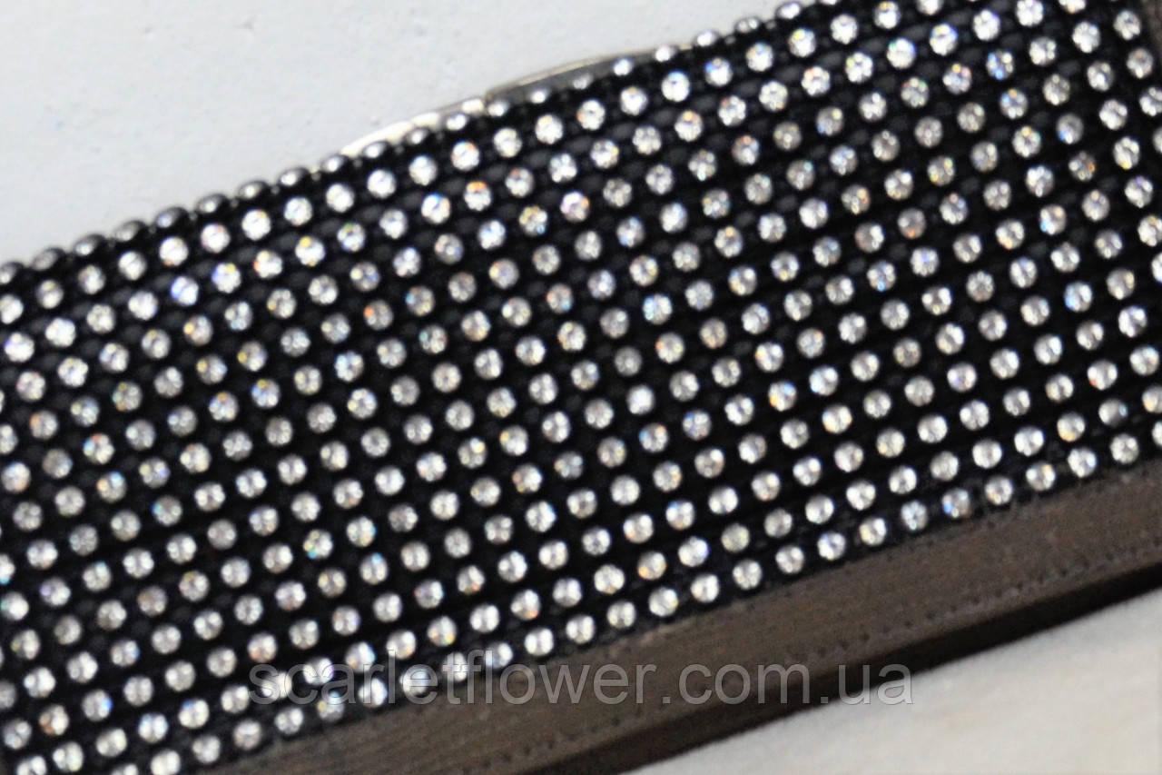 6f364fa21e95 Женский кожаный кошелек BOND со стразами. 950 грн. В наличии. Купить