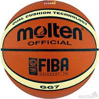 М'яч баскетбольний PU №7 MOLTEN BGG7