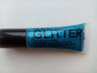 Гелевий гліттер в тубі ( синій) Stargazer