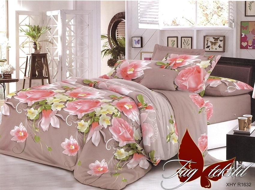 Комплект постельного белья XHY1632 двуспальный (TAG polycotton (2-sp)-405)