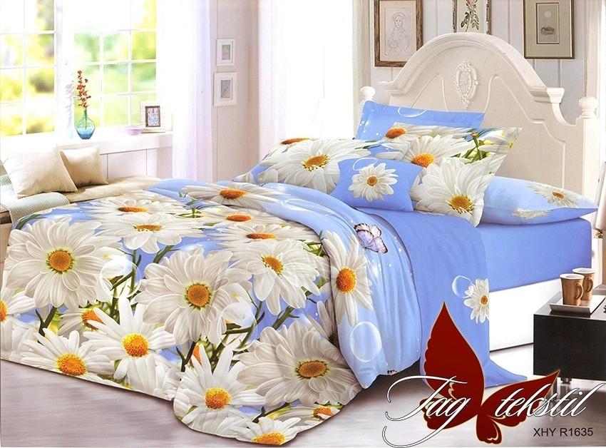 Комплект постельного белья XHY1635 двуспальный (TAG polycotton (2-sp)-407)