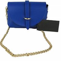 Женская сумка кожаная Луиза синяя