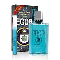 Туалетная вода для мужчин, Perfume 10ml/present Egor 100 мл