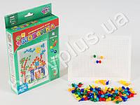 Joy Toy Мозаика 140 фишек, 6 цветов, 10мм, в кор-ке MMT-JT-2709
