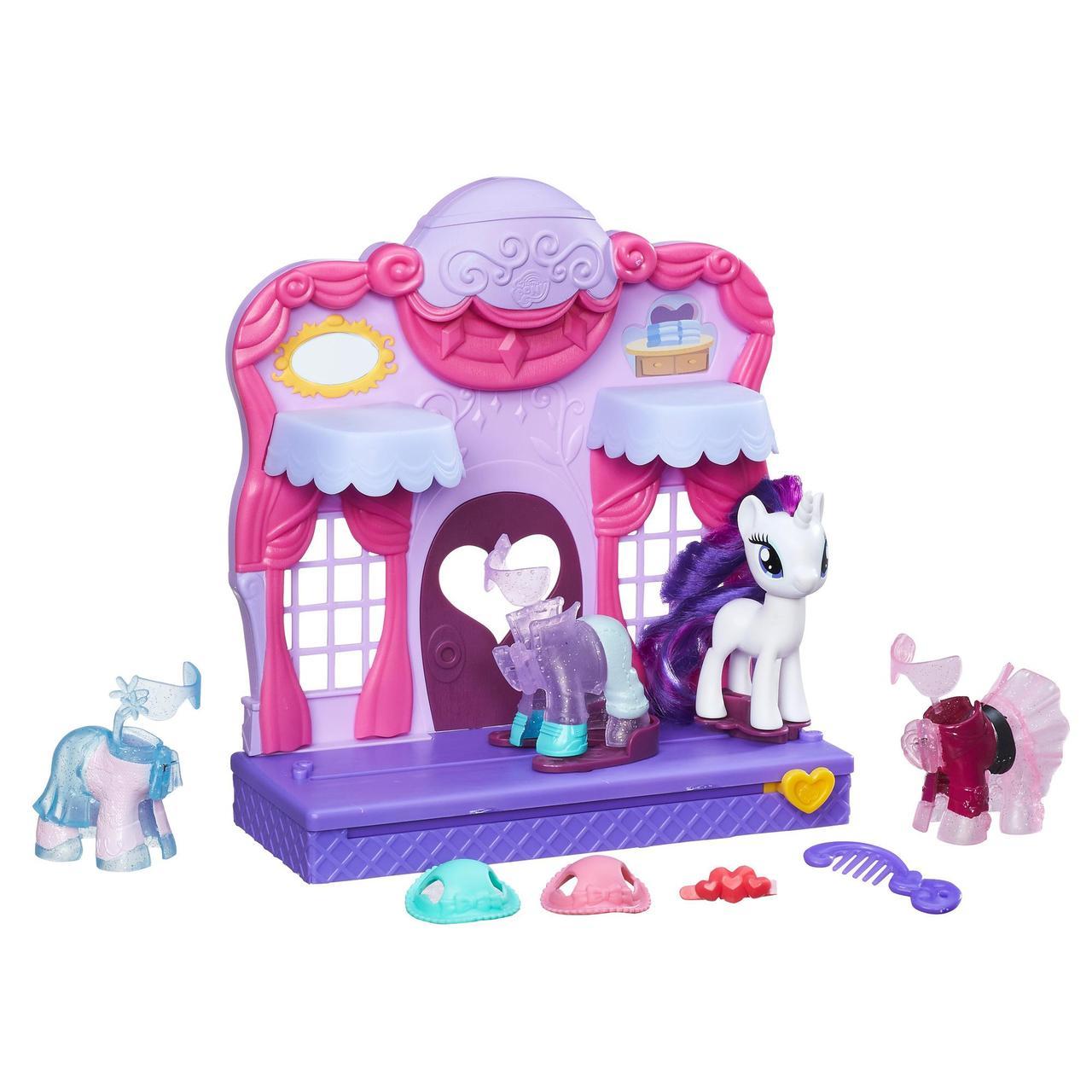 Май Литл Пони Бутик Рарити в Кантерлоте My Little Pony Friendship is Magic Rarity Fashion Runway