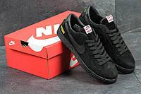Кроссовки Nike Supreme мужские (черные), ТОП-реплика, фото 1