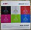 Беспроводные BLUETOOTH STEREO наушники NIA X5 SP APP Control TF FM-радио Аудиовход Динамики, фото 2