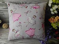 Подушка детская балерины,  35 см * 35 см