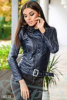 Стеганая куртка-косуха Gepur 18038