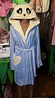Женский махровый халат с ушками