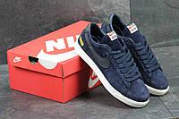 Кроссовки Nike Supreme мужские (синие), ТОП-реплика, фото 1