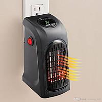 Портативный керамический тепловентилятор Handy Heater, Комнатный обогреватель в розетку, Хит продаж