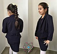 Детский подростковый пиджак с двумя пуговицами, фото 1