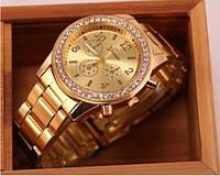 Часы женские Genevа Swarowski три цвета