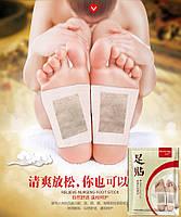 """Пластырь Foot Patch на стопы для выведения токсинов и шлаков """" Bioaqua """" 10шт"""